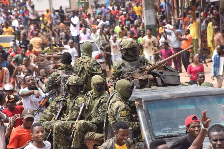 Guinea military detention