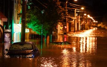 Ida smashes rain records in glimpse of future warming