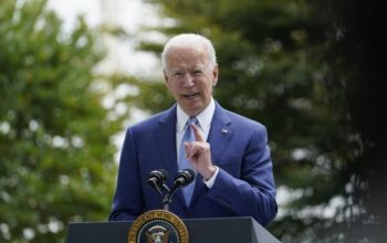 Biden on shaky ground with fellow Democrats as poll numbers slide